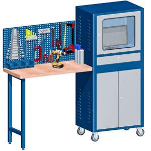 RC-08 - Rack para Computador com Bancada e Painel